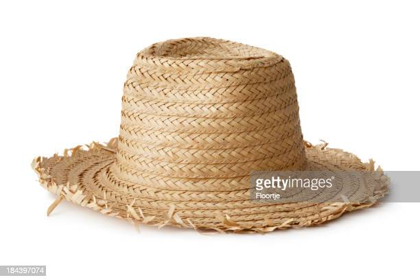 Hats: Straw hat