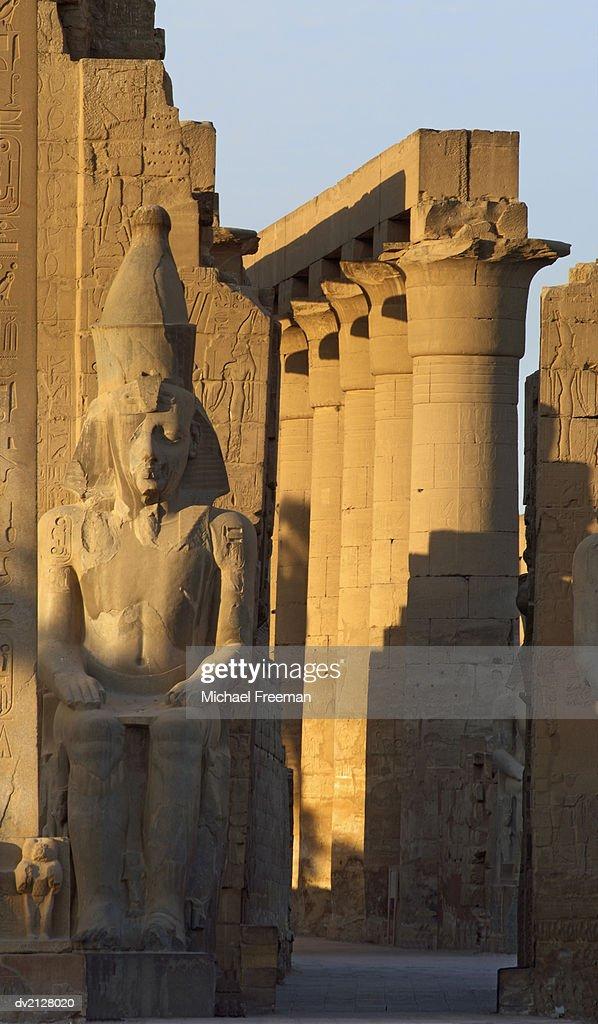 Hatshepsut Temple, Luxor, Egypt : Stock Photo