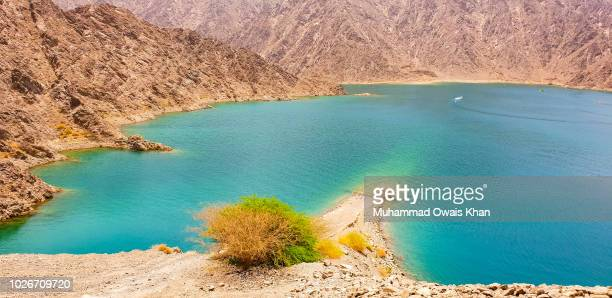 hatta dam, uae - valley stock pictures, royalty-free photos & images