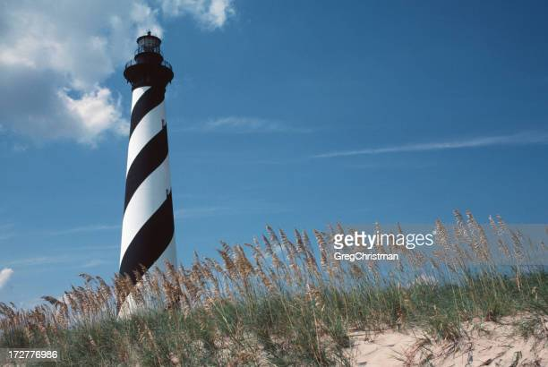 Hatteras Lighthouse From The Dunes
