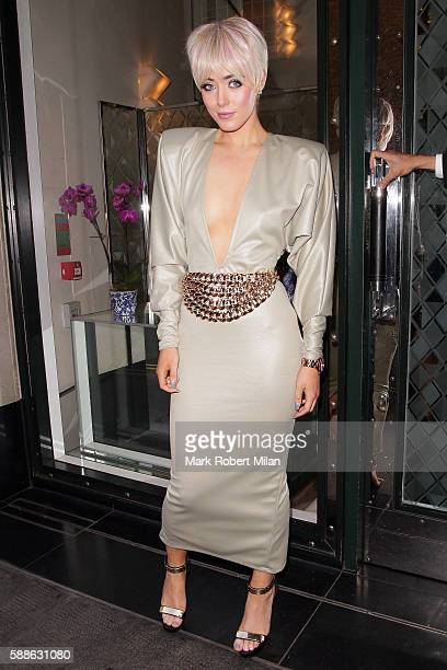 Hattie Keane at the Ivy Club on August 11 2016 in London England