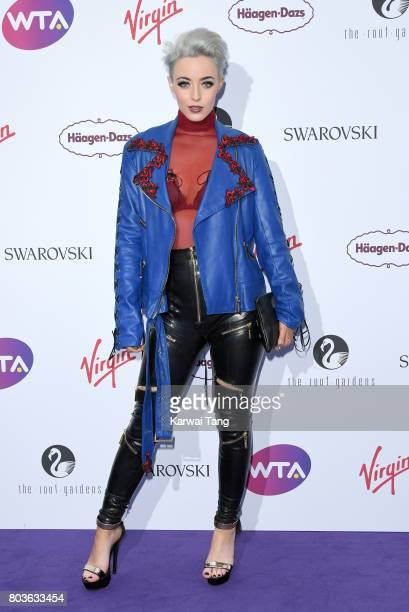 Hattie Keane attends the WTA PreWimbledon party at Kensington Roof Gardens on June 29 2017 in London England