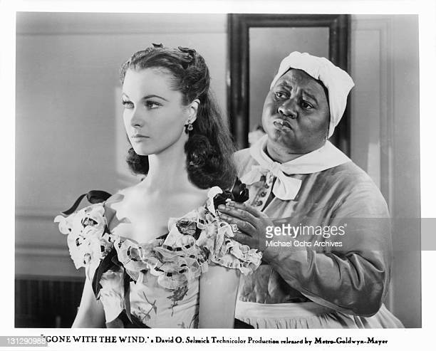 Hattie McDaniel tries to console Vivien Leigh in a scene from the film 'Gone With The Wind' 1939