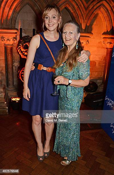 Hattie Morahan and mother Anna Carteret attend an after party celebrating the press night performance of Shakespeare In Love at Southwark Cathedral...