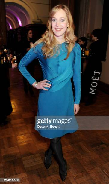 Hattie Morahan attends the London Evening Standard British Film Awards at the London Film Museum on February 4 2013 in London England