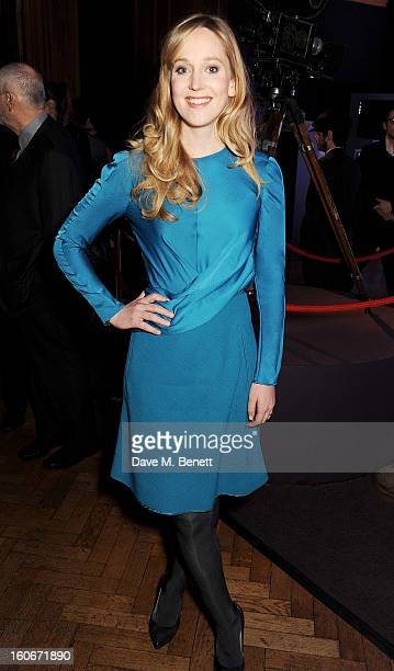 Hattie Morahan attends the London Evening Standard British Film Awards supported by Moet Chandon and Chopard at the London Film Museum on February 4...