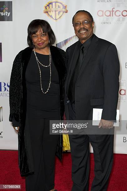 Hattie Winston and Harold Wheeler appear on the red carpet for the 2nd Annual AAFCA Awards on December 13 2010 in Los Angeles California