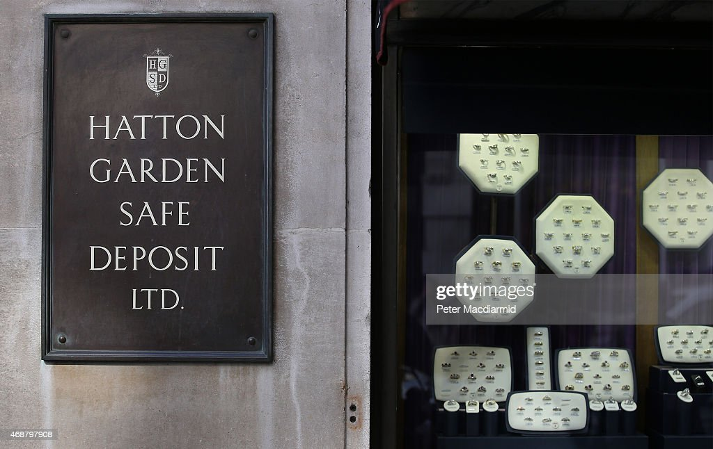 Police Investigate Robbery At Hatton Garden Safety Deposit Box Company : News Photo