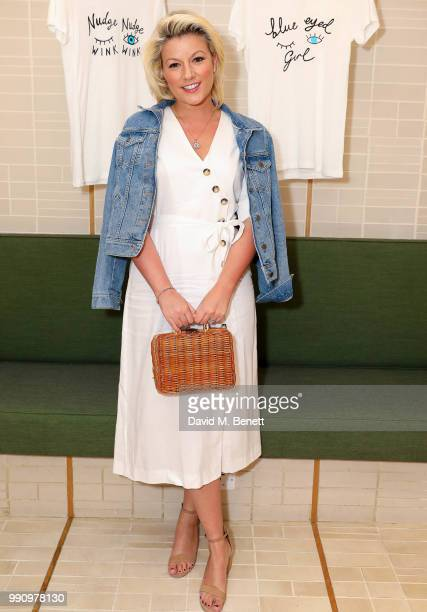 Hatty attends Rotten Roach X Poppy Paper Cuts hosted by Marissa Montgomery at Selfridges on July 3, 2018 in London, England.