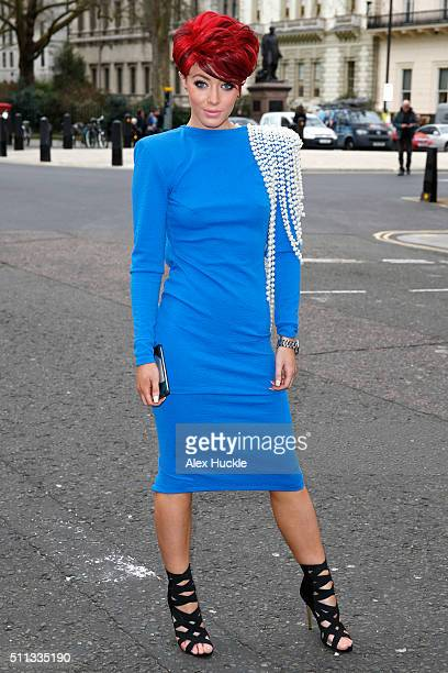Hatty Keane attends the A/W 16 Manuel Facchini presentation at No11 Carlton House Terrace on February 19 2016 in London England