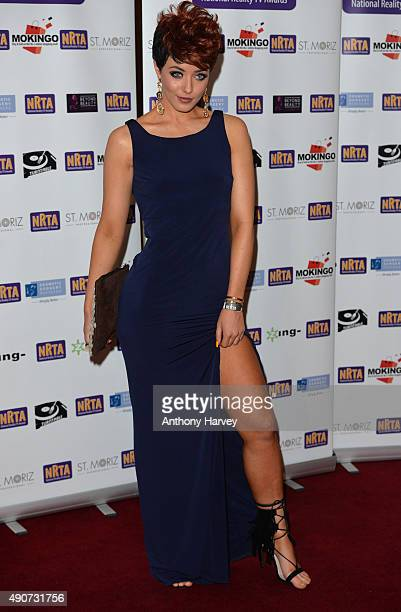 Hatty Keane attends the National Reality TV Awards at Porchester Hall on September 30 2015 in London England