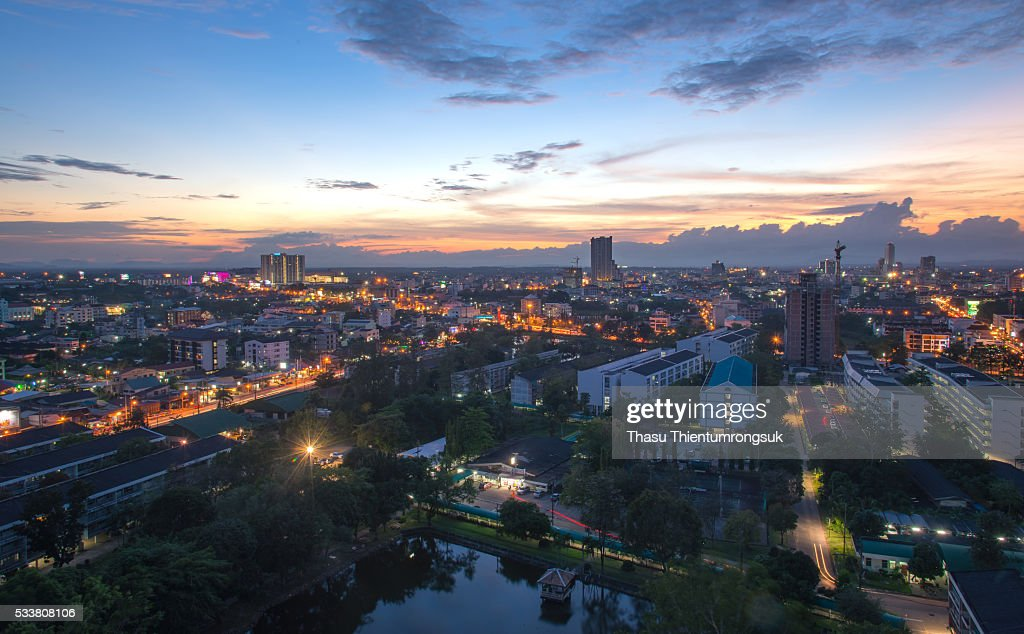 Hatyai city,Songkhla,Thailand : Foto stock