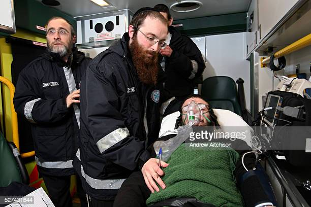Hatzola are a voluntary medical emergency service that provides care to the Orthodox Jewish community of North London. Here 3 of their volunteers...