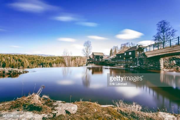 haugfoss - verwaltungsbezirk buskerud stock-fotos und bilder