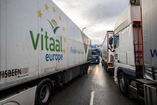NLD: Port of Rotterdam Reveals Truck Park For Brexit Trade