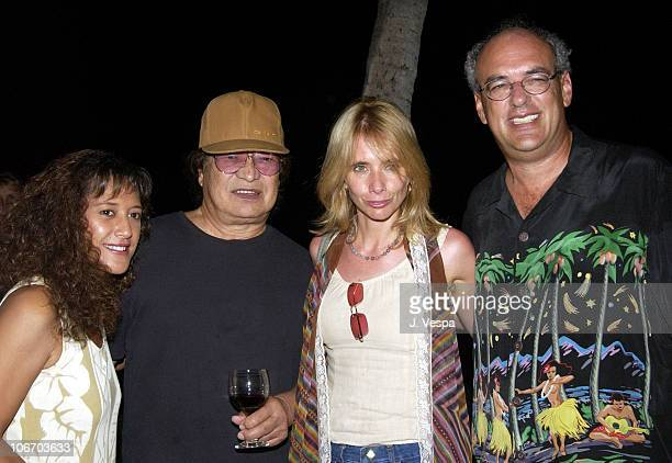 Haumei Don Ho Rosanna Arquette and Shep Gordon during 2002 Maui Film Festival Shep Gordon Hosts Clint Eastwood's Silversword Award Party at Private...