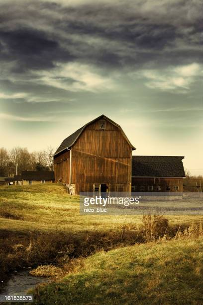 haunted creek - farmhouse stock pictures, royalty-free photos & images