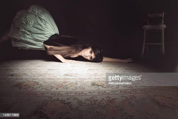 Haunted girl