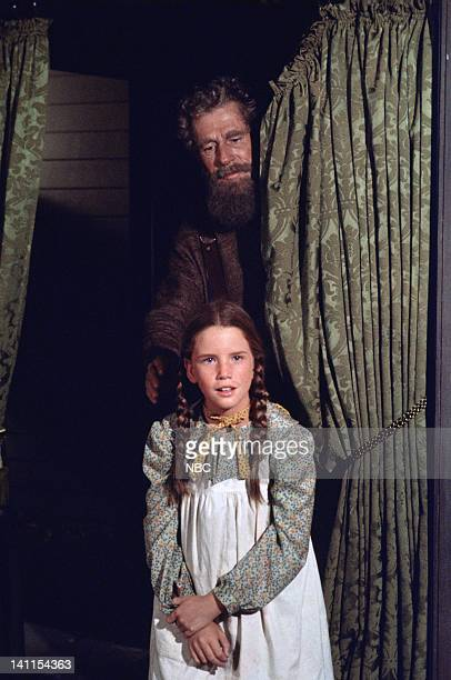 PRAIRIE 'Haunted House' Episode 5 Aired Pictured John Anderson as Amos Pike Melissa Gilbert as Laura Elizabeth Ingalls Wilder Photo by Ted...