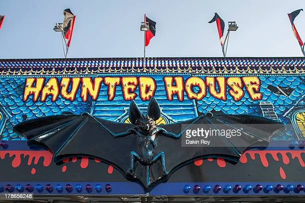 Haunted House sign at the  Dutchess County Fair