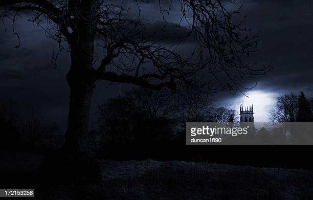 haunted paisagem - cena não urbana - fotografias e filmes do acervo