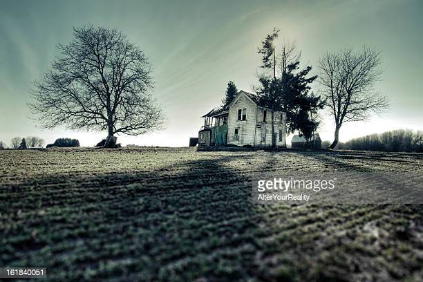 haunted - shack stock pictures, royalty-free photos & images