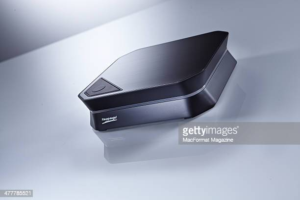 A Hauppauge HD PVR 2 high definition video recorder photographed on a white background taken on June 12 2013