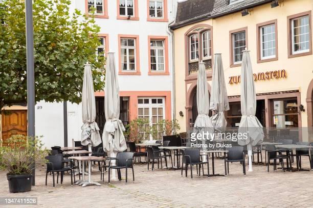 Hauptmarkt main square , Trier, Rhineland-Palatinate, Germany, Europe.