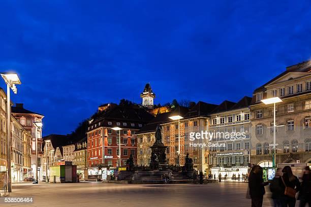 Hauptplatz in Graz