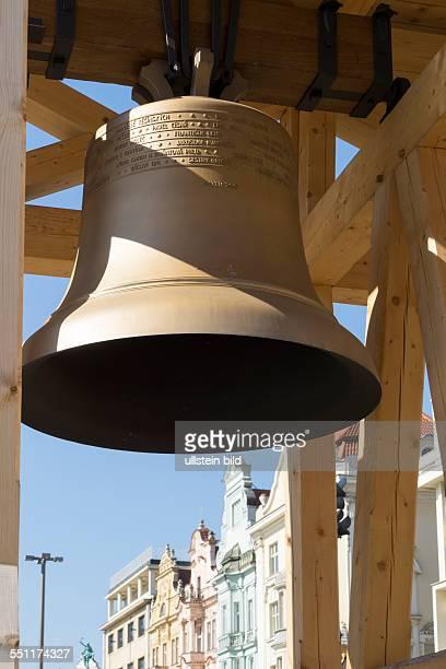 Hauptplatz Namesti Republiky in Pilsen Ersatz für die im Krieg eingeschmolzenenen Glocken der Sankt Bartholomäus Kirchenglocken