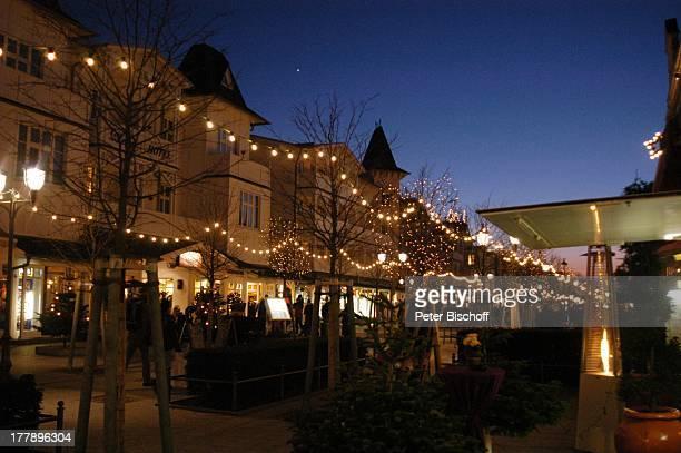 Hauptstraße Ostseebad Binz Insel Rügen MecklenburgVorpommern Deutschland Europa Beleuchtung Weihnachten Weihnachtszeit Reise