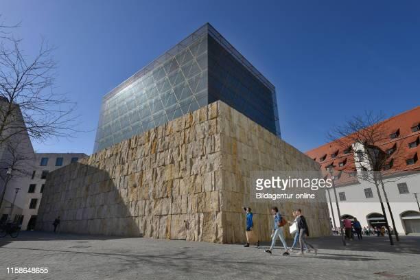 Hauptsynagoge Ohel Jakob, Juedisches Zentrum, Sankt-Jakobs-Platz, Munich, Bavaria, Germany.