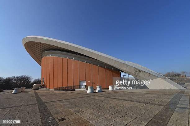 Haus der Kulturen der Welt, John-Foster-Dulles-Allee, Tiergarten, Berlin, Deutschland