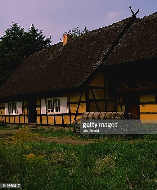 Haus im Freilandmuseum Lehde 1990