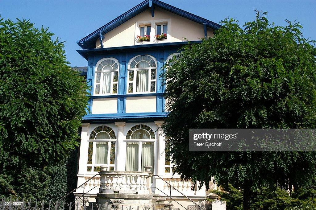 Haus Von Gunther Emmerlich, Dresden, Sachsen, Deutschland, Europa,  Homestory, Aussen