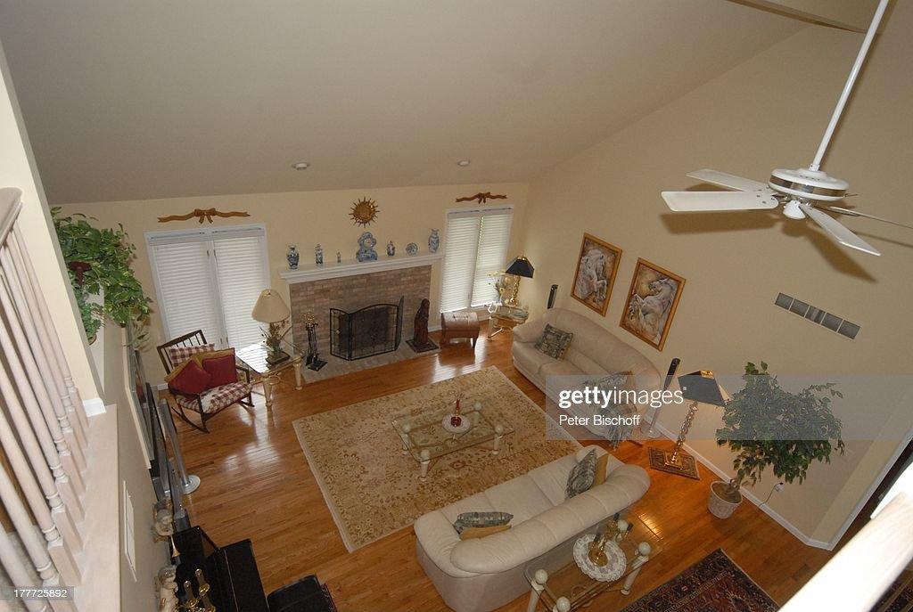 Haus von Ingrid Kreuder-Coryell (Witwe von Komponist P E T E R K : News Photo