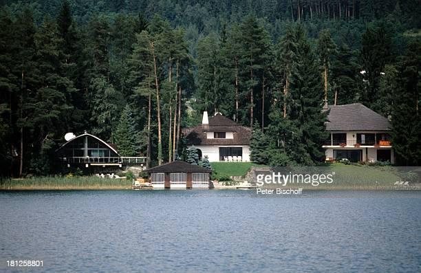 Haus von Peter Alexander Am Wörthersee zwischen Pörtschach und Klagenfurt Kärnten sterreich Europa Reise