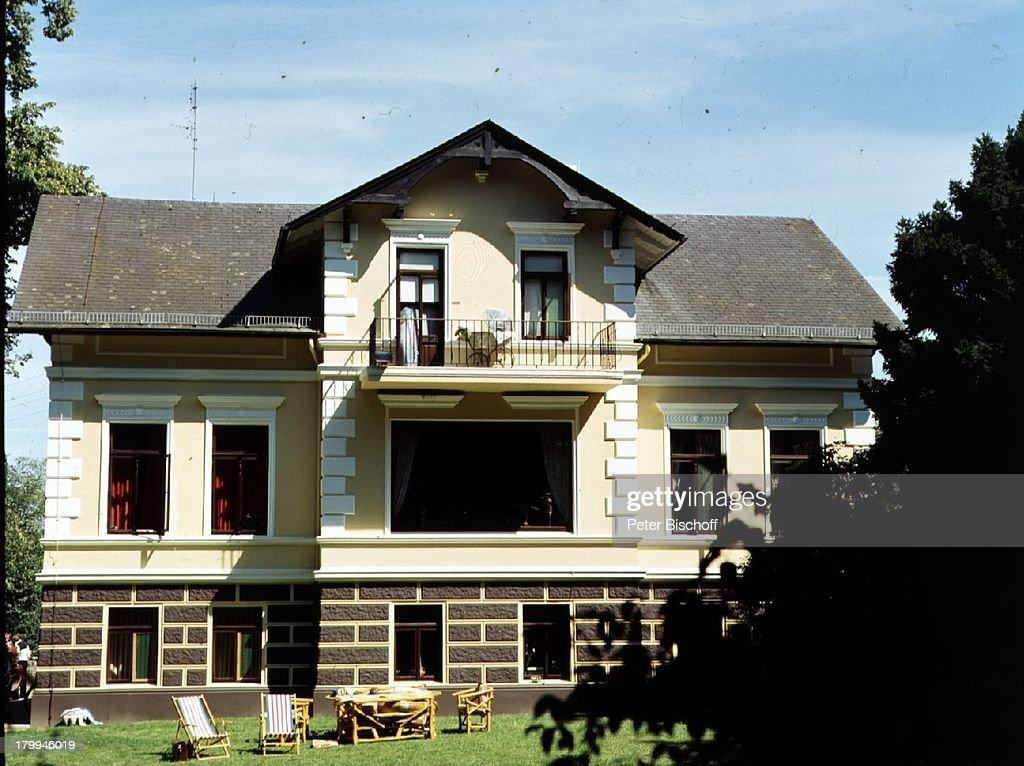Haus von Rudi Carrell in;Wachendorf/Syke/Bremen, Garten,;Gartenm ...