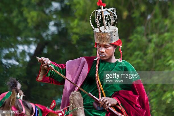 Hausa boy portrait from the Durbar festival in Argungu, Kebbi State, Nigeria.