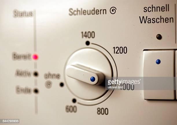 Hausalt Waschen Waschmaschine mit Wäscheschleuder Schalter