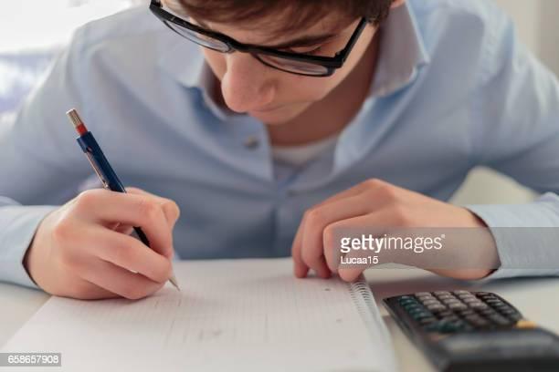 Hausaufgabe schreiben
