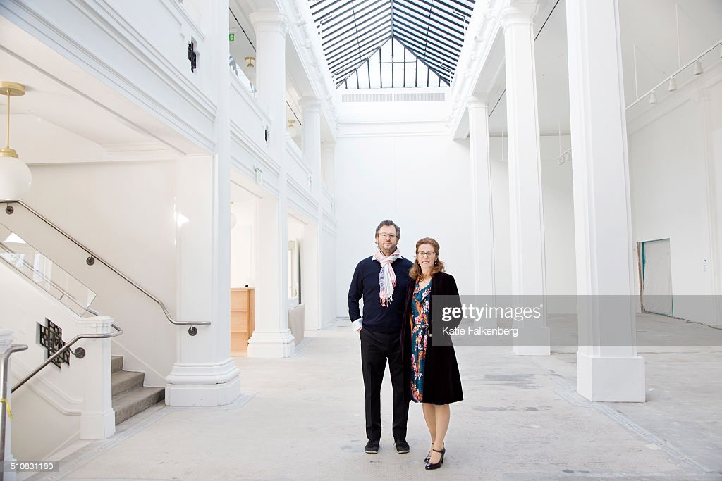 Iwan Wirth and Manuela Hauser, Los Angeles Times, February 8, 2016 : News Photo