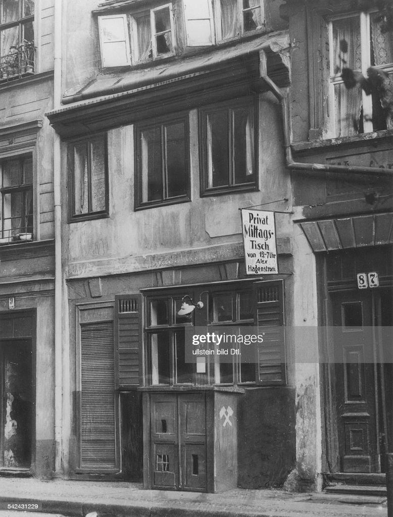 Privat Mittagstisch Das Kleinste Restaurant In Berlin In Einem Haus