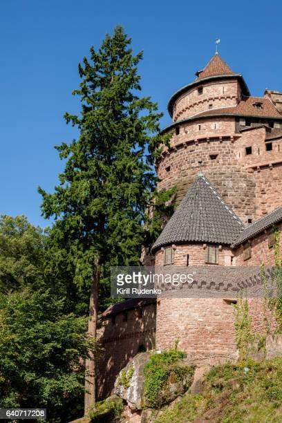 Haut Koenigsbourg Castle, Alsace, France