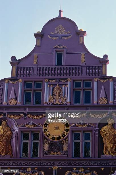 Haut Rhin Mulhouse the City Hall of the XVIth century today museum of history a historical monument Alsace France