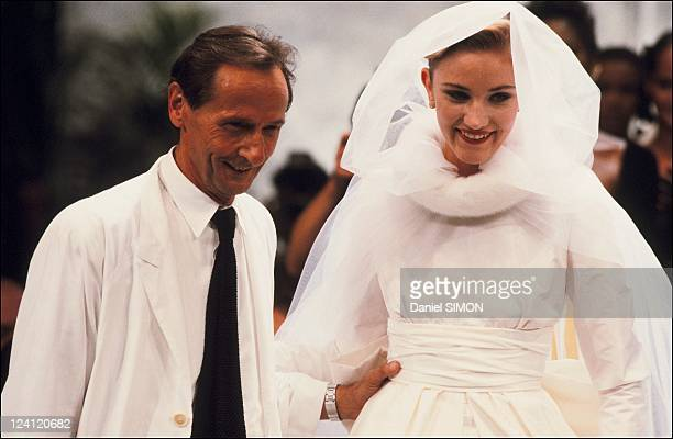 Haute Couture fall winter 87 88 Fashion show in Paris France on July 26 1987 Dior collection Marc Bohan