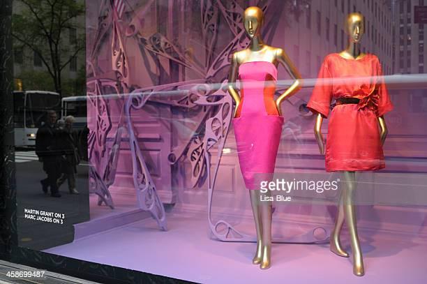 Haute Couture Window Display,NYC.