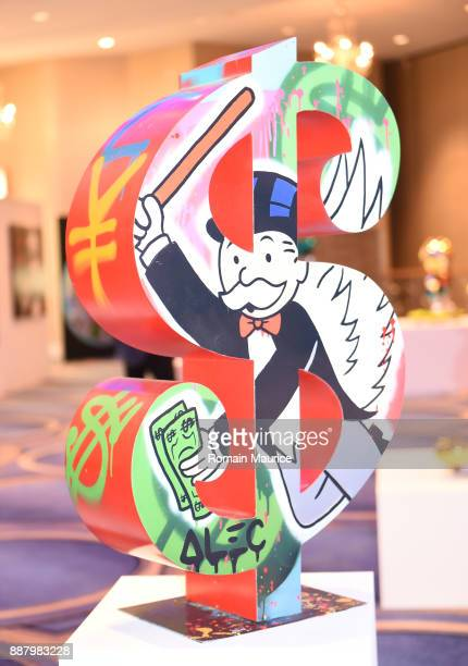 Haute Living's VIP PopUp Opening of Alec Monopoly from Art Life and David Yarrow from Maddox Gallery at Fleur De Lis Ballroom Fontainebleau Miami...