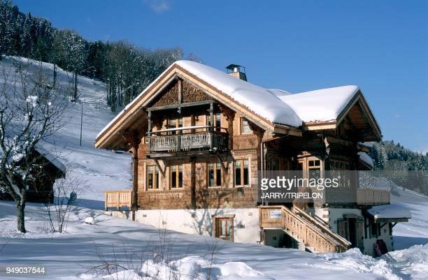 'Les Portes du Soleil' skiing area in les Gets 'Le Vieux Chalet' lodge HauteSavoie les Gets Domaine 'les Portes du Soleil' gite de France 'Le Vieux...