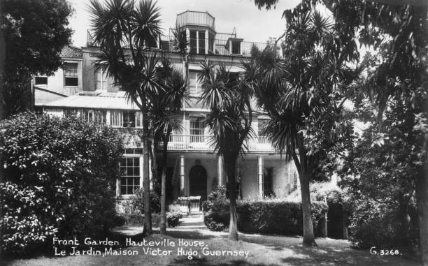 Hauteville House in Guernsey, home in exile of French...